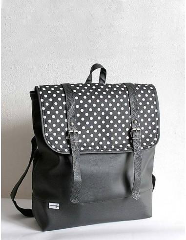Batoh Dots černý 3b5cc4d3b9