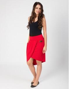 Červená sukně Beatt