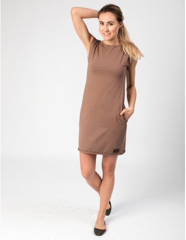 Hnědé šaty Anett