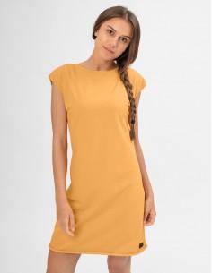 Okrové šaty Angelika
