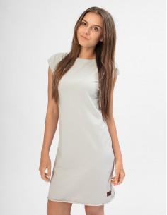 Šedé šaty Angelika