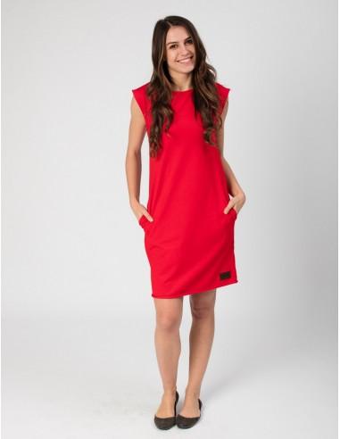 Červené šaty Anett