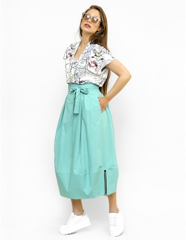 Tyrkysová sukně Iwona