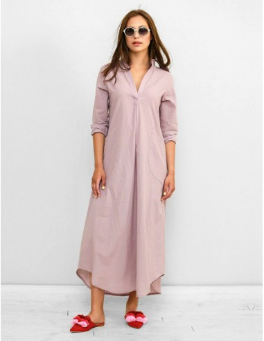 Fialkové šaty Fabia