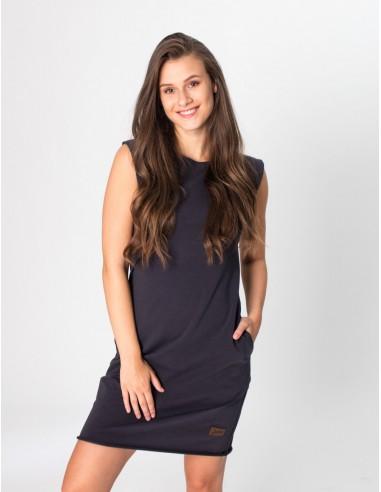 Antracitové šaty Anett