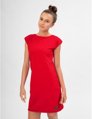 Červené šaty Angelika