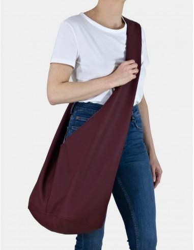 Bordó taška Short Boogi bag