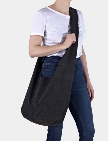 Grafitová taška Short Boogi bag