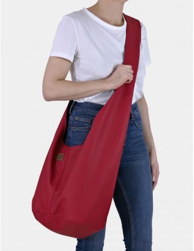 Červená taška Short Boogi bag