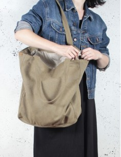 Khaki taška Lazy bag