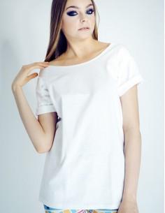Bílé oversize tričko