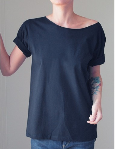 Černé oversize tričko