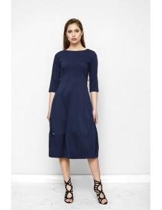 Tmavě modré šaty Vera