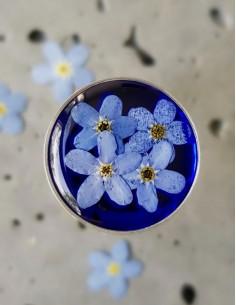 Prsten Pomněnka modrý