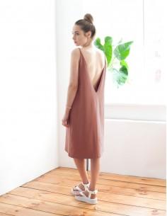 Cihlové šaty Cedar