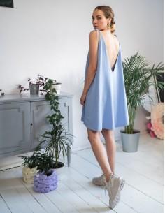 Modré šaty Cloud