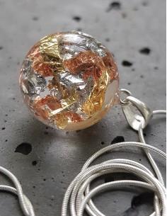 Stříbrný náhrdelník Metal
