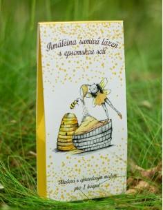 Šumivá lázeň s medovou vůní...