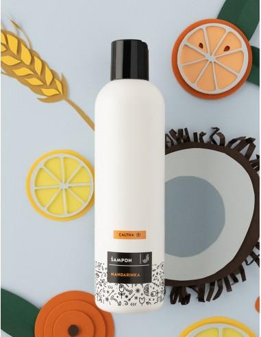 Tekutý šampón Mandarinka