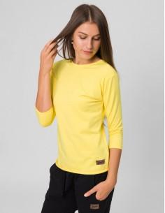 Žluté tričko s mašlí Angelika