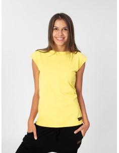 Žluté tričko s mašlí Summer