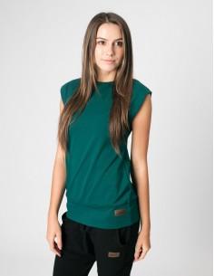 Smaragdové basic tričko