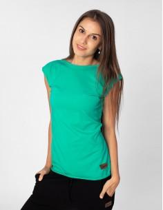 Zelené tričko s mašlí Summer
